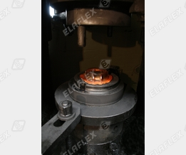 Hot stamping process, TW coupling part