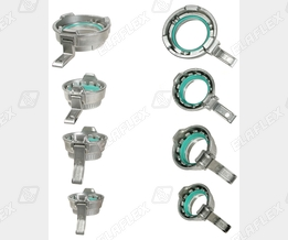 "MK ""TW"" female couplers of stainless steel"