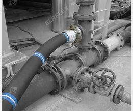 UTS 200 hose assembly in chemical plant
