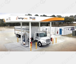 Oasis Fill Valves at CNG service station