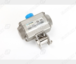 Oasis BV701 Ball Valve, with air torque actuator AT101, for CNG